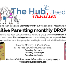 Positive Parenting Drop In